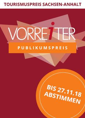 Abstimmung Fur Den Tourismuspreis Sachsen Anhalt Vorreiter 2018